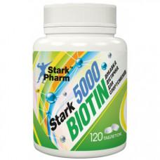 Біотин  5000 мг 120 табл.