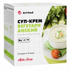 Суп-крем  вегетарианский №10