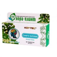 Гінкго білоба Флора - Плант по 0,5 г. 40 табл.