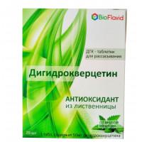 Дигідрокверцетин з м'ятою (50 мг.) 20 табл.