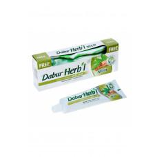 Зубна паста з екстрактом Німа + щітка (Dabur Herb'l) 150 гр.