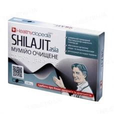 Мумійо очищене Shilajit Аsia по 200 мг. 60 табл.