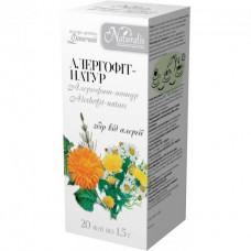 Чай Алергофіт-натур  20 шт. по 1.5 г ( Naturalis )