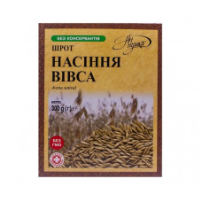 Шрот насіння вівса 300 г.