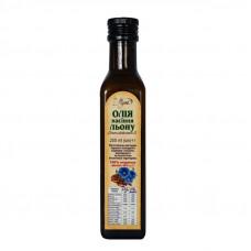 Олія насіння льону скло (з дозатором) 250 мл.