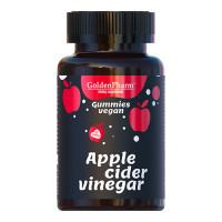 Яблучний оцет Apple Cider Vinegar веган мармелад 60 шт.